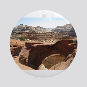 capitol reef Ornament (Round)